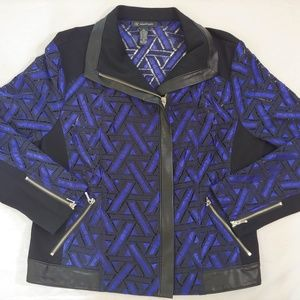 INC International Concepts Cool Blue Jacket XL
